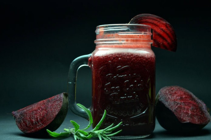 magnesium content in beet root keeps your energy levels up.