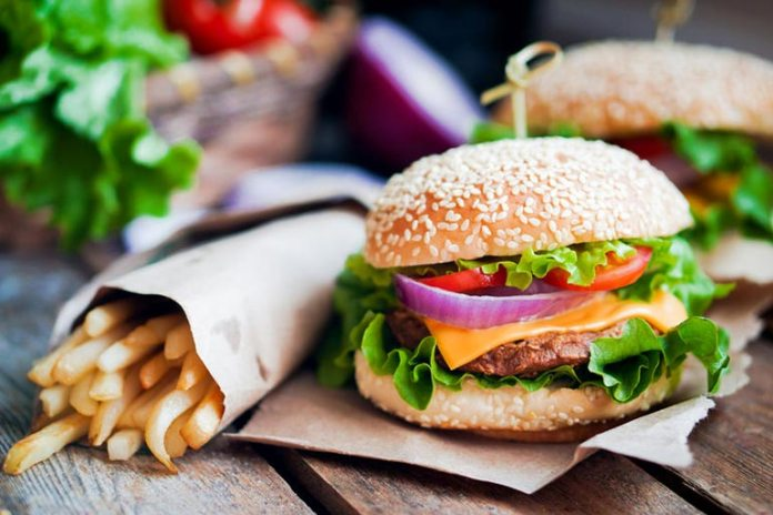 Restaurant foods are high in calories, fat, and sodium