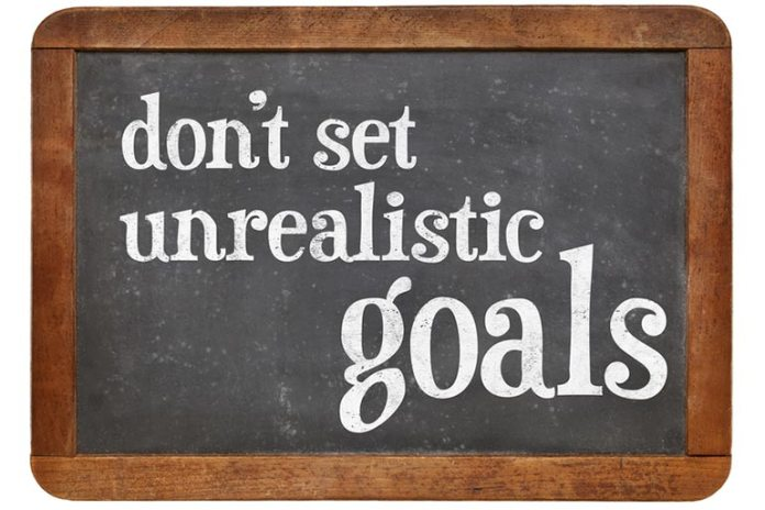 Setting Unrealistic Goals Is A Common Workout Mistake