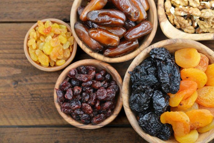 Dates and raisins keep you full for longer