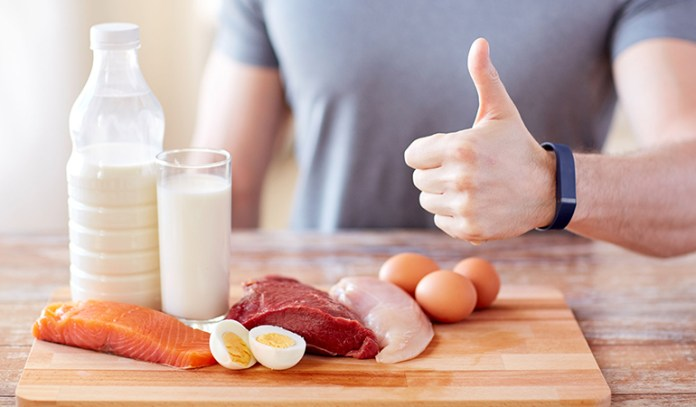 Proteins maintains muscle and therefore metabolism