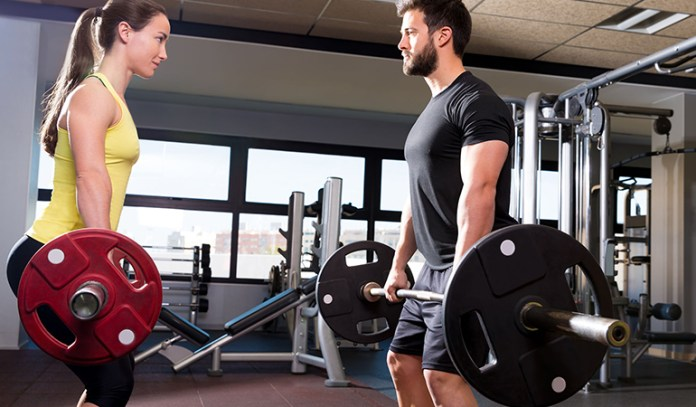 Men And Women Are Equal When It Comes To Lifting Weights