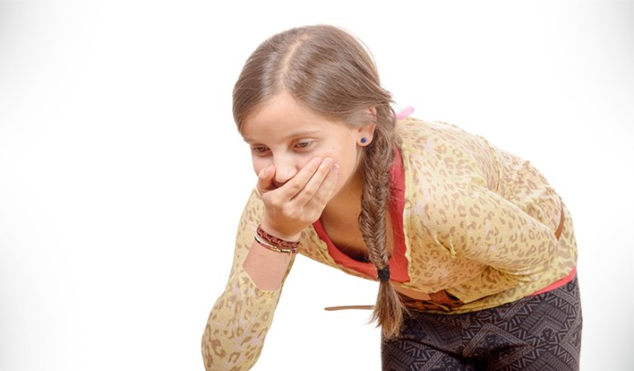 Nausea and vomiting could be due to a migraine