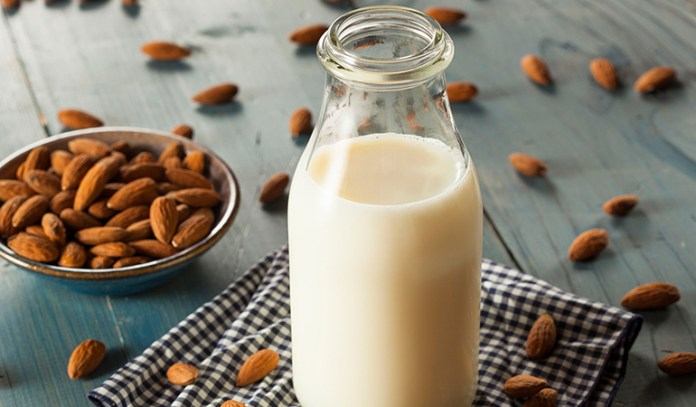 Nut milk is more dense and packed with nutrients