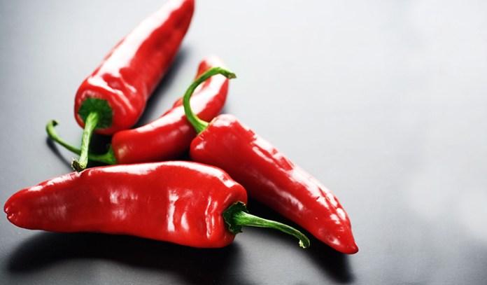 Capsaicin in peppers has anti-inflammatory properties.