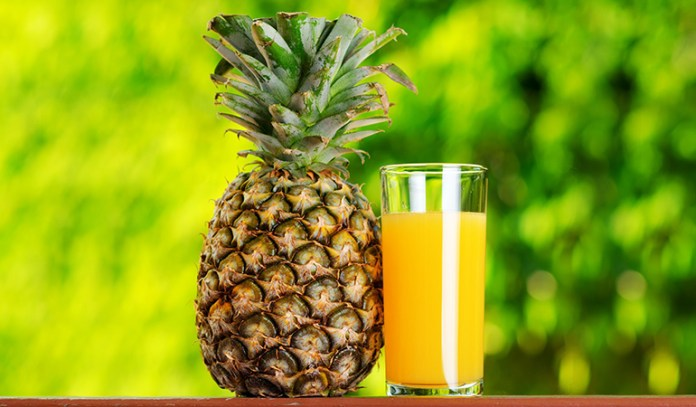 Pineapple Can Help Reduce Coughing