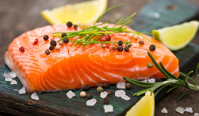 Salmon contains plenty of omega-3 fatty acids