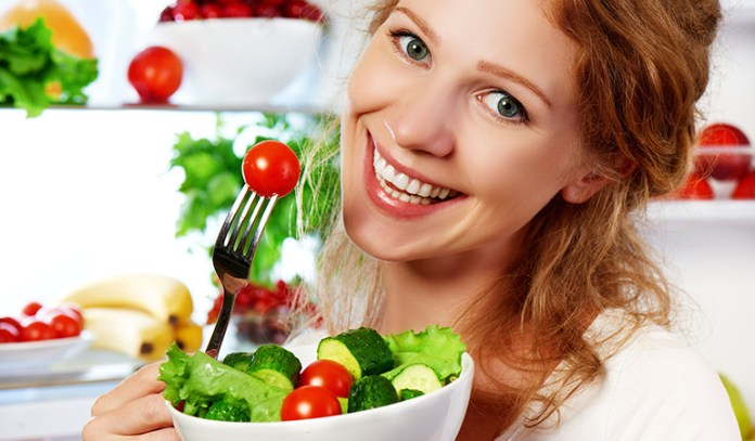 Healthy eating promotes weight loss