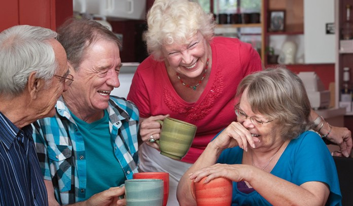 Being sociable helps you live longer