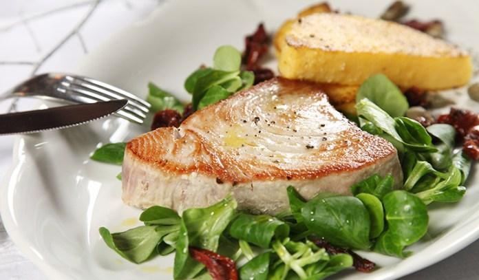 Skipjack tuna contains less mercury.