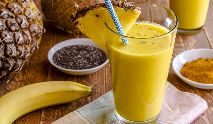 You can turmeric to different smoothie recipes