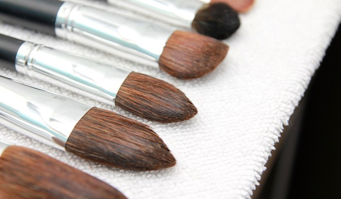 Get rid of any dirt or build up on your brushes