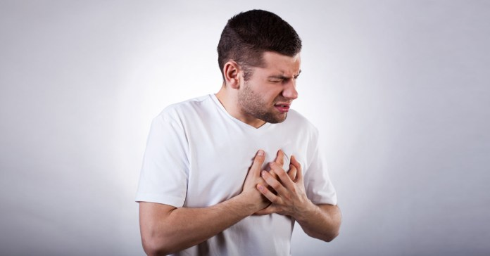 Chest pain could be caused by different reasons in athletes