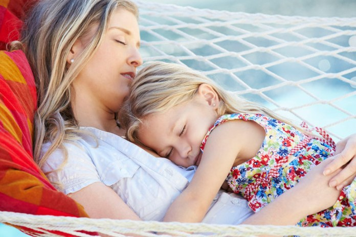 Cradling helps you fall asleep faster