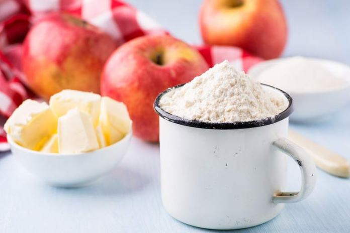Apple and butter are great anti-inflammatory substances.