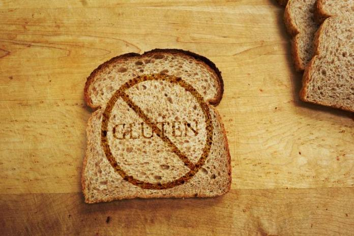 If you are gluten sensitive, you need to avoid bread.
