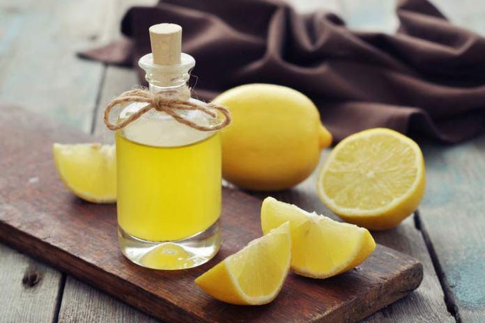 Lemon Oil, Olive Oil, And Castor Oil for hair growth