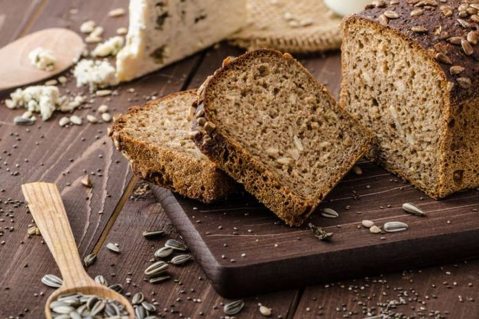 The process to make whole-wheat bread strips off vitamins and minerals from the wheat.