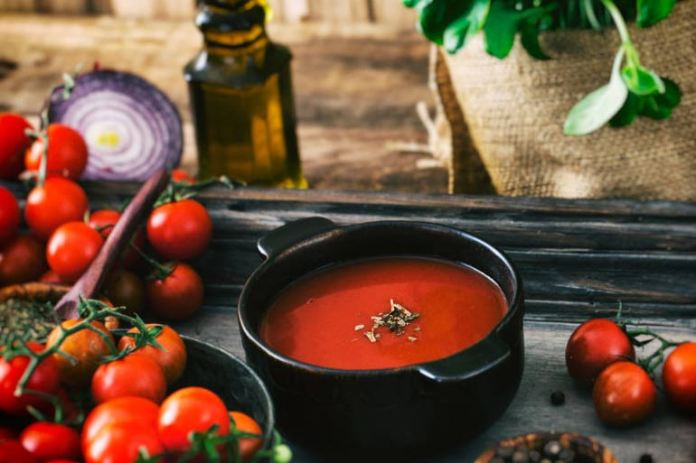 Add Tomatoes To Your Diet As Soups