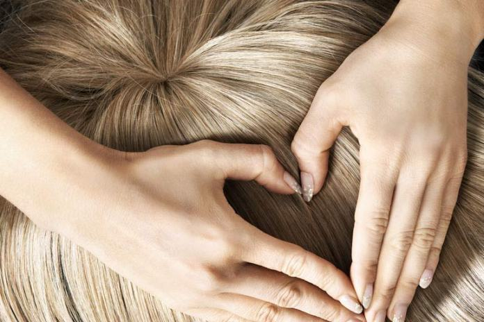 Baking soda helps clean out gunk and product buildup from your scalp to give you cleaner, shinier hair.