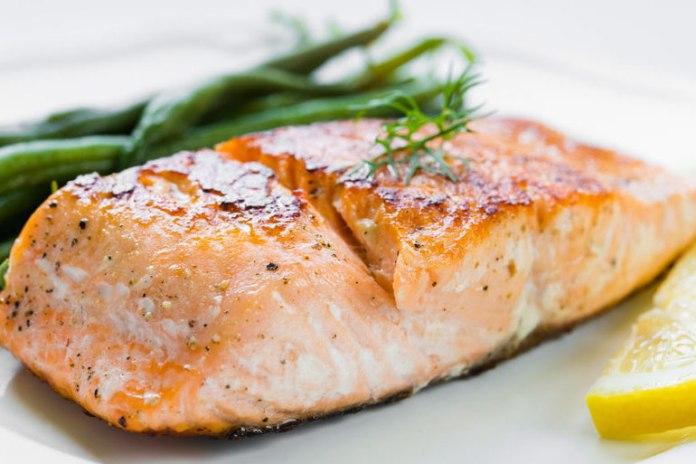 Salmon contains omega-3 fatty acids