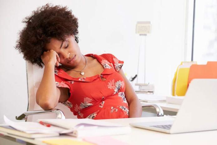 Don't ignore even the minor symptoms of stress.