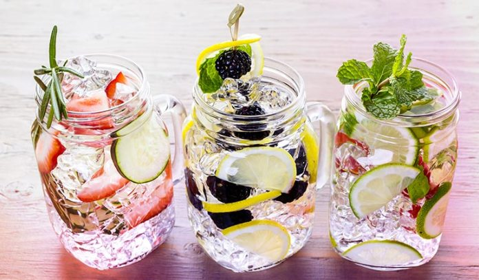 (If plain water sounds too boring, then you can add some flavor to it to make it more appealing