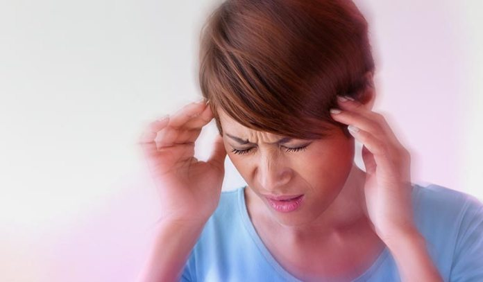 The most common symptom is a very bad headache.