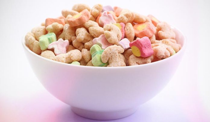 Cereal Is Full Of Added Sugar