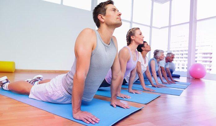 yoga class, a walk, or a swim