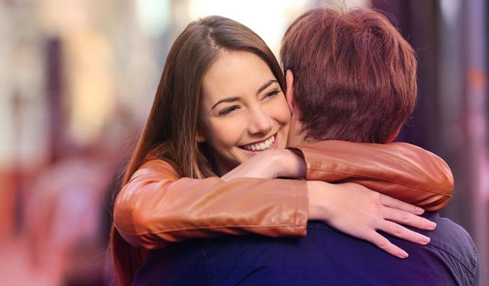 Hugging a friend can surprisingly reduce the risk of catching a cold