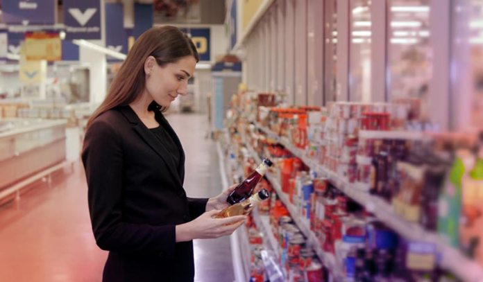 Visit the grocery store to get acquainted with the foods you need for your diet.