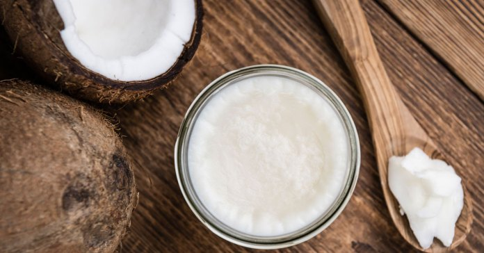 Benefits of coconut oil for hair.