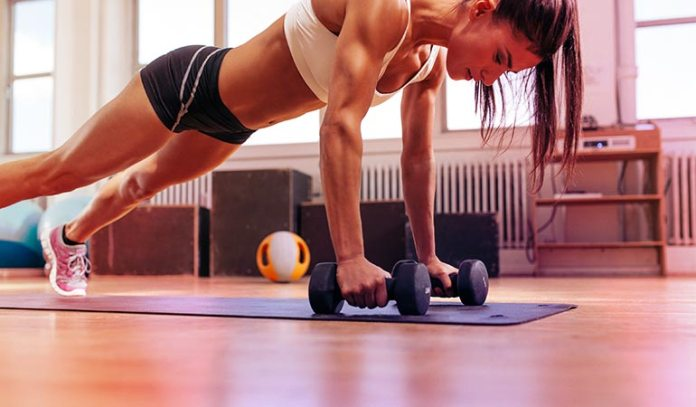 (It is not enough to watch exercise videos or write exercise on your to-do list and never exercise in real life)