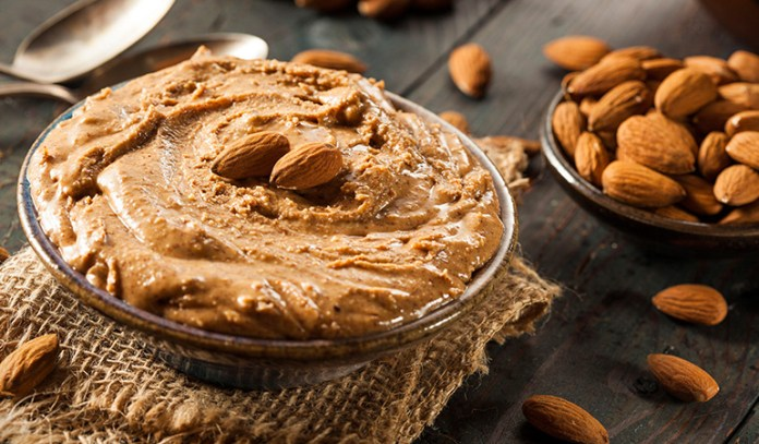 Almonds and almond butter can reduce belly fat