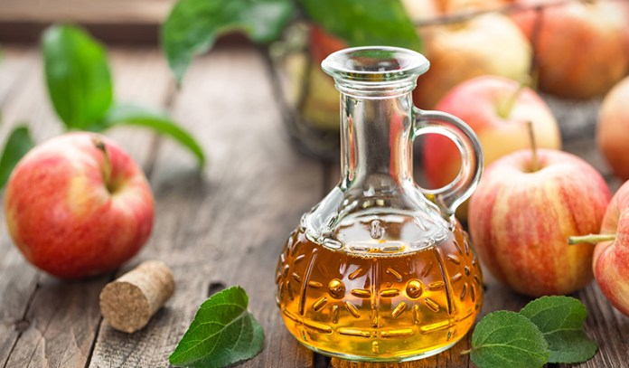 In addition to keeping your body's pH levels in check, apple cider vinegar also helps fight inflammation and can prevent acne.