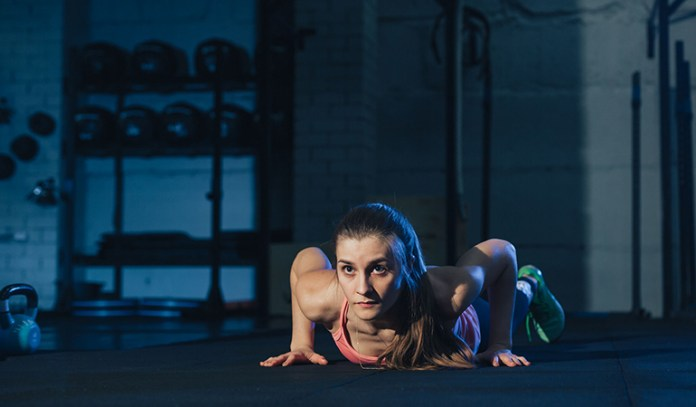 Burpees burn up to 350 calories in 30 minutes.