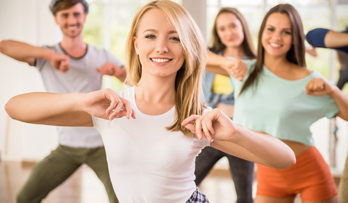 Dance can help you torch up to 518 calories per hour.