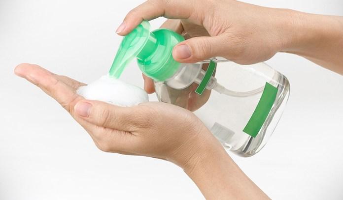 Stop using anti-bacterial soap