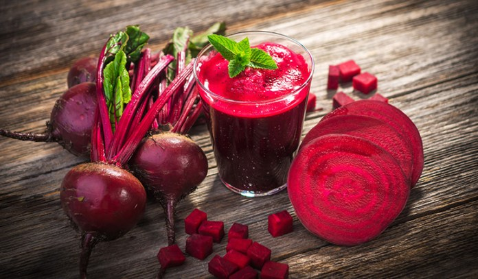 Diuretic veggies like beets and green beans will make you want to urinate more often, thus helping solve fluid retention.
