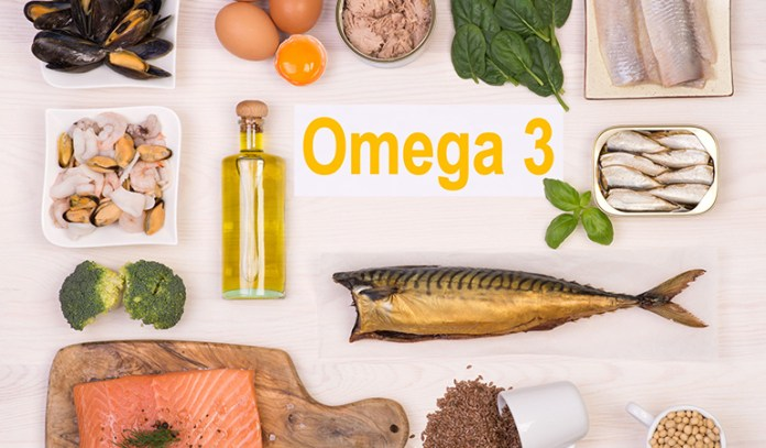 Fish such as salmon contain a lot of omega-3 fatty acids