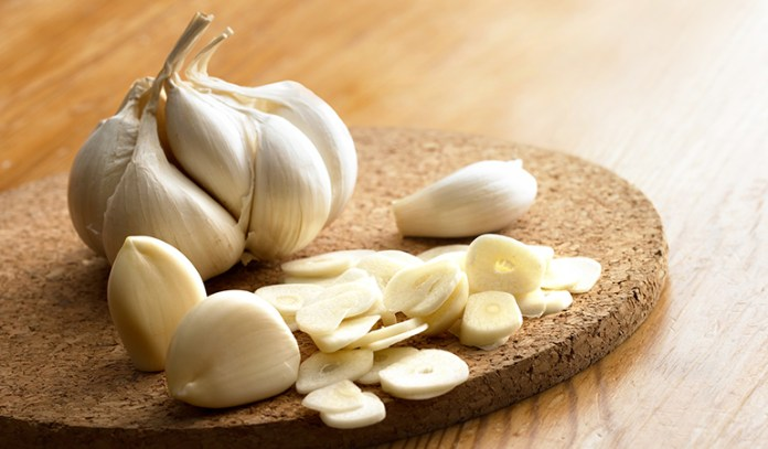 Garlic can be kept in less humid places