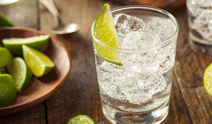 Gin is good with soda and lime