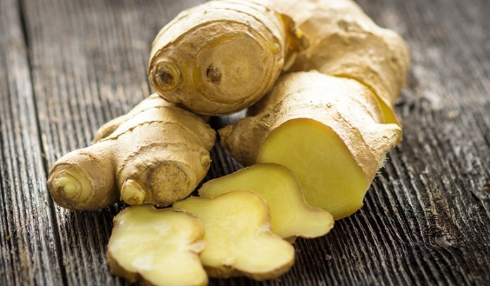 Ginger contains antioxidants and phenolic compounds to help with indigestion symptoms.