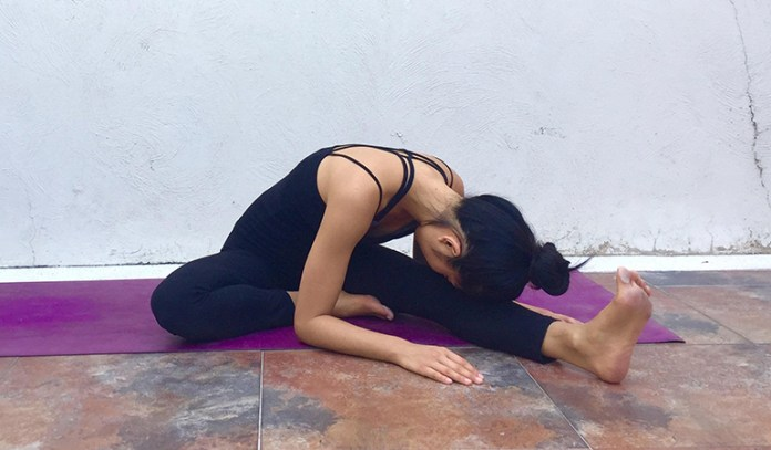 Head-To-Knee Forward Bend (Janu Sirsasana)