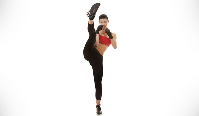High Kick Is An Example Of A Dynamic Stretch