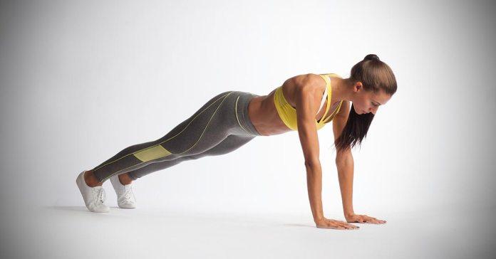 Doing planks require zero equipment