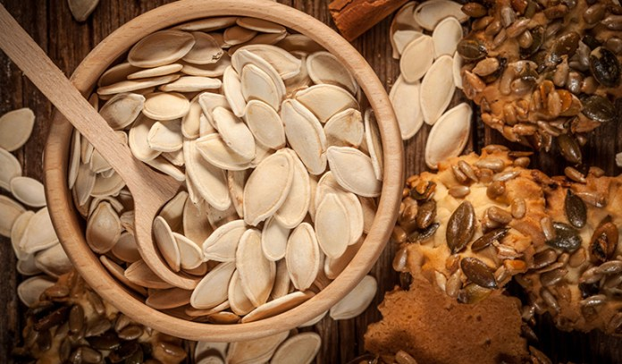 Pumpkin seed butter can be made tasty with ingredients like nutmeg and cinnamon