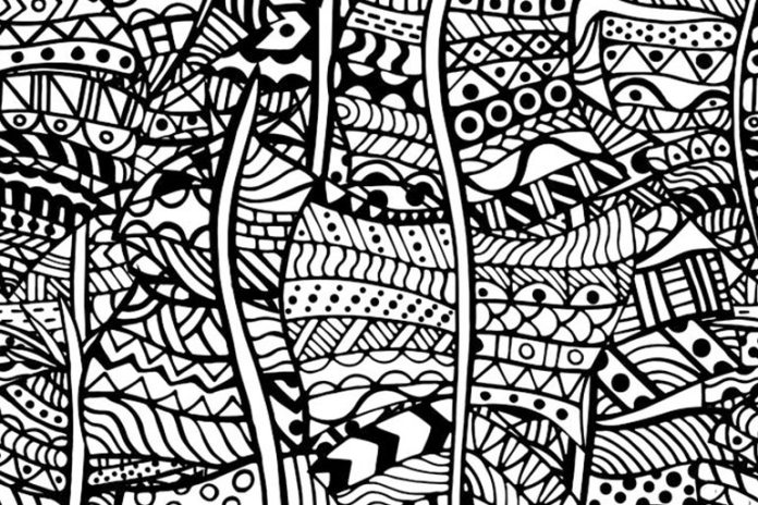 Zentangles, mandala coloring books, pottery, etc. are some art forms that can help relieve a stressed out mind.