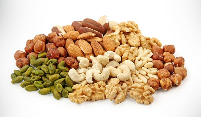 Nuts can reduce the risk of stroke